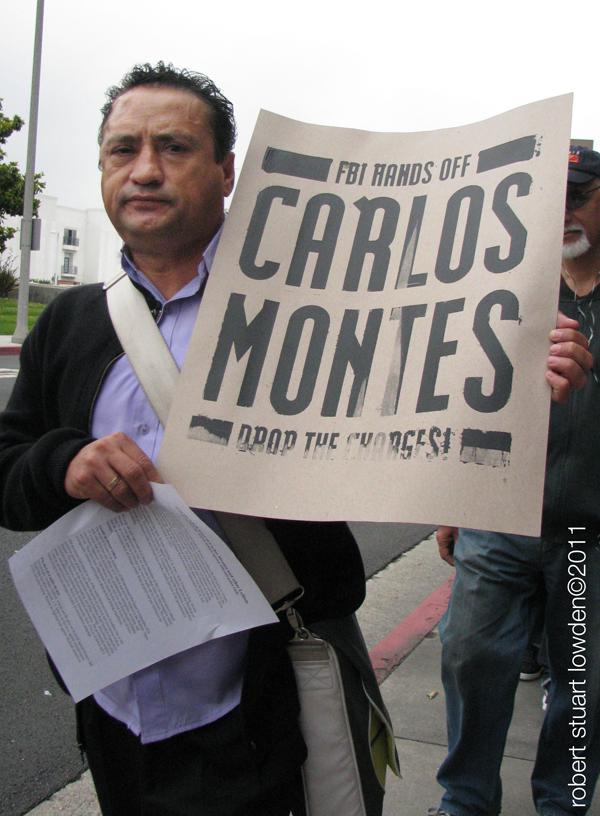 Carlos Montes Protes...