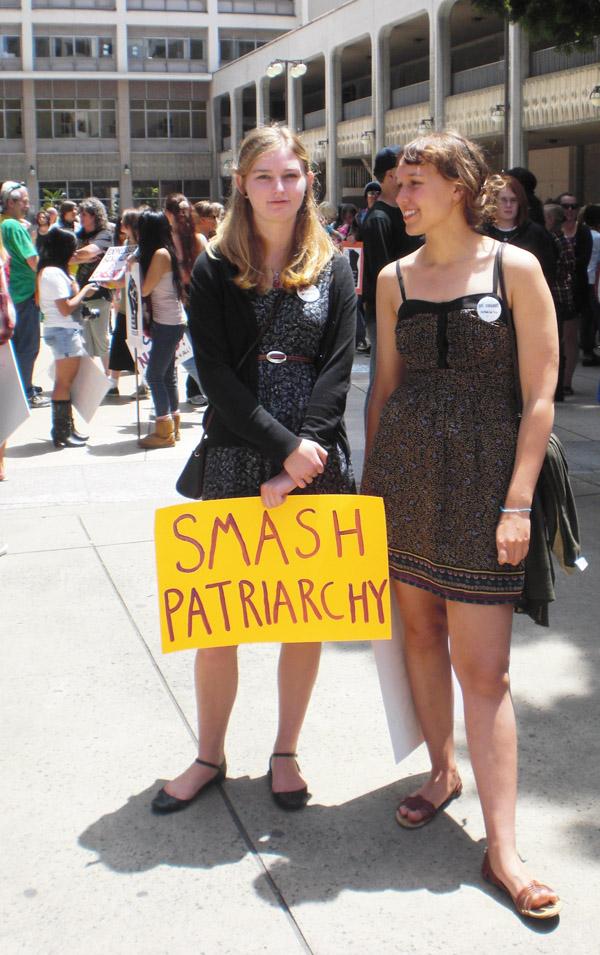 Smash patriarchy...