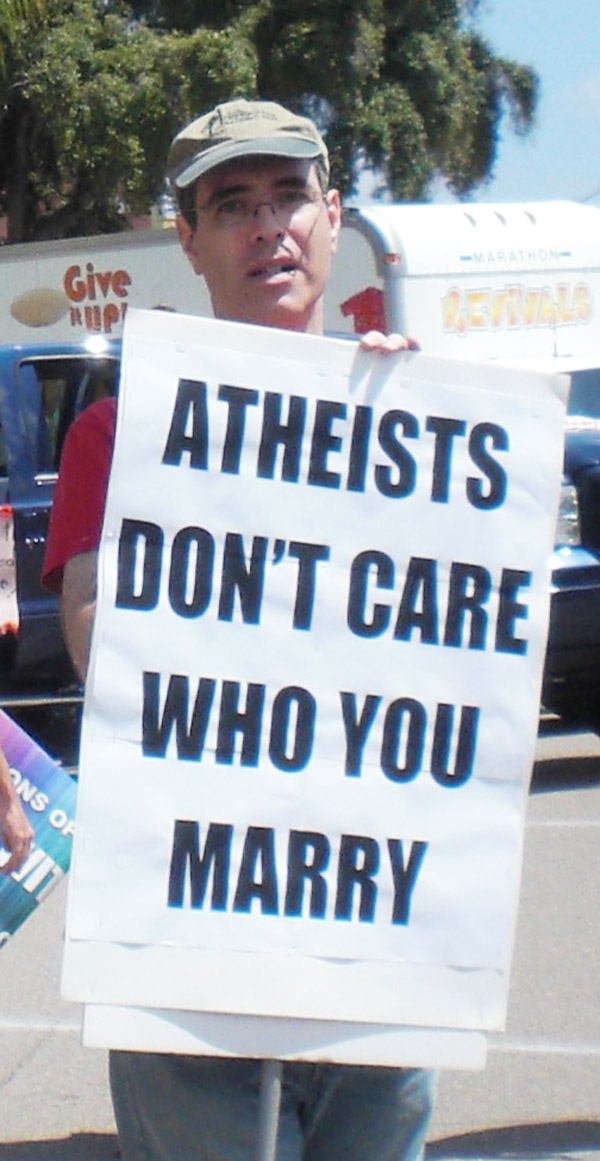 """Atheists Don't..."
