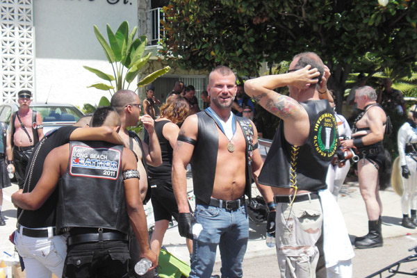 Leather contingent; ...