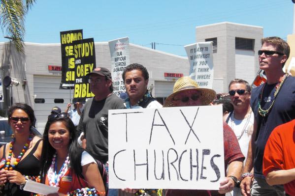 """""""Tax Churches&q..."""