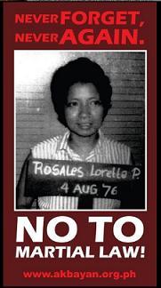 Marcos dictatorship...