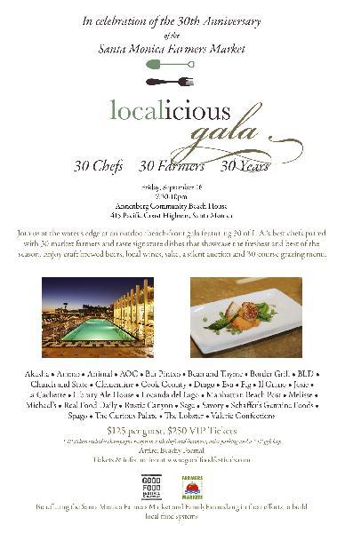 Localicious Gala: 30...