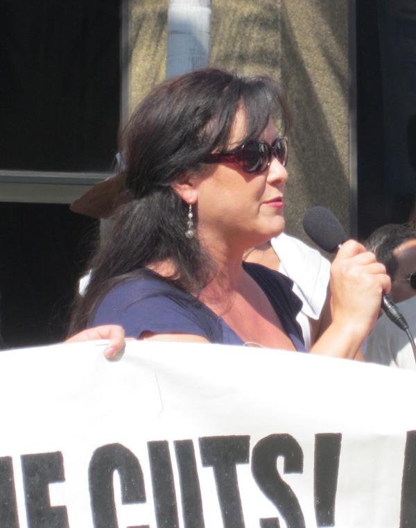 Lorena Gonzalez...