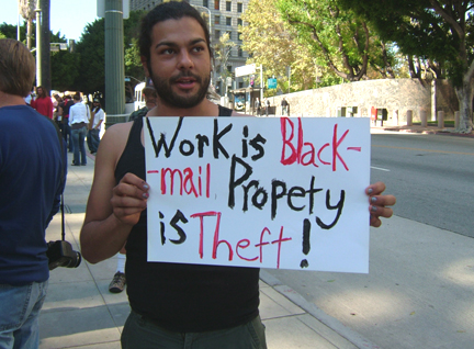 Property is Theft...