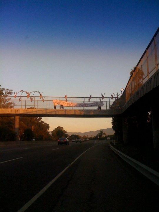Freeway banner circa...