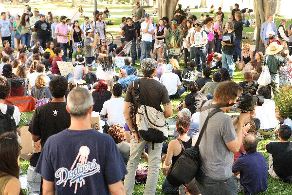Occupy Los Angeles, ...