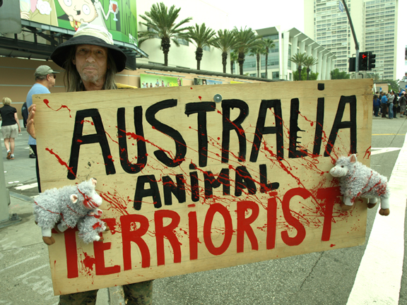 Animal Rights Protes...
