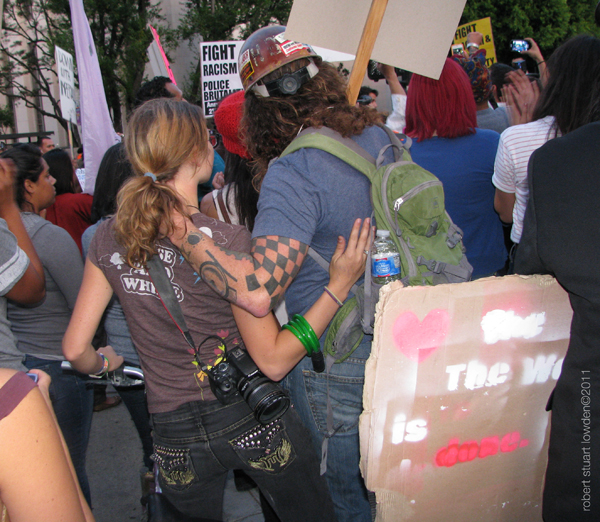 Occupy LA Couple...