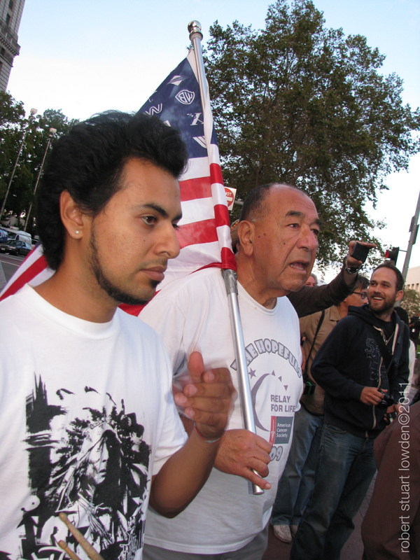 Occupy LA Protesters...