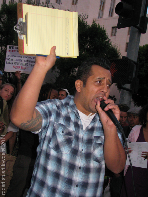 Occupy LA Organizer...