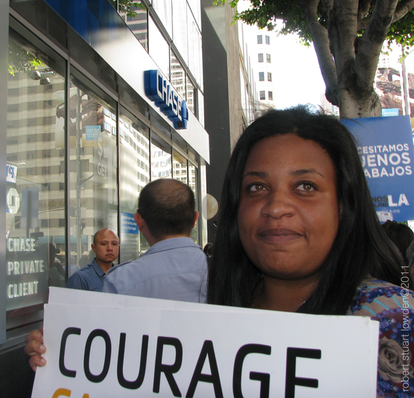 Courage / Occupy LA...