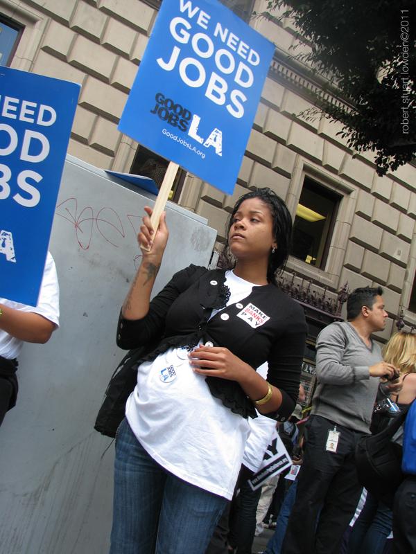 Occupy LA Pregnant P...