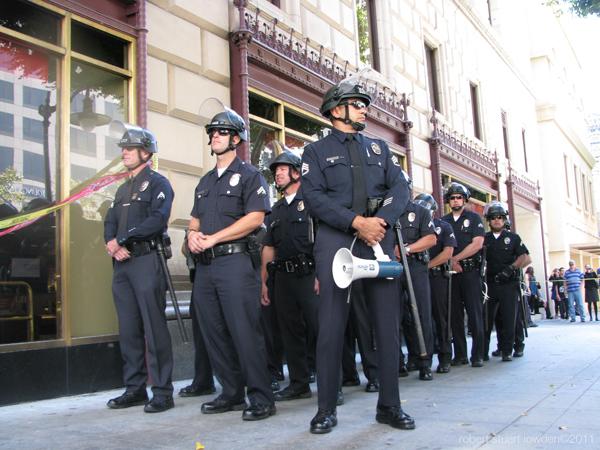 LAPD Line...