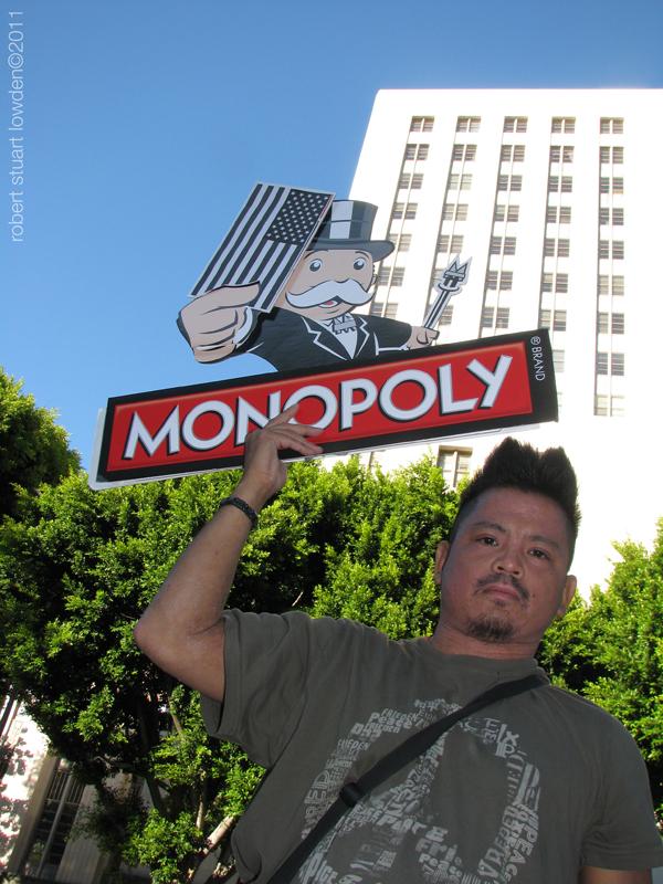 Occupy LA Protester ...