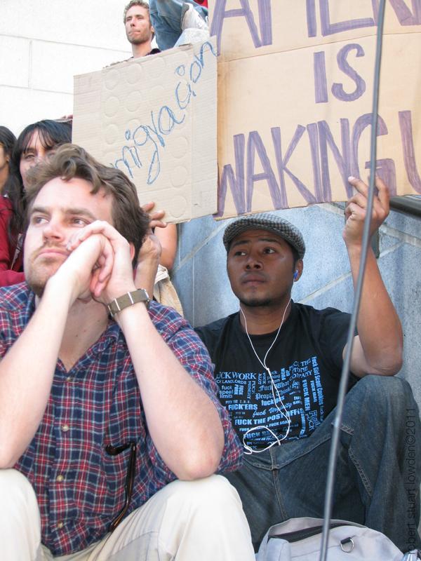 Occupy LA Protester...