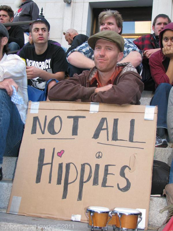 Occupy LA Non Hippie...
