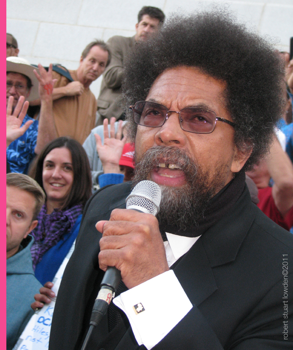 Cornel West at Occup...