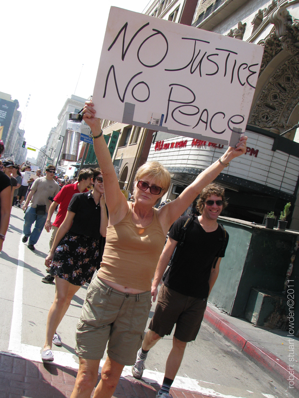 Occupy LA Protester...