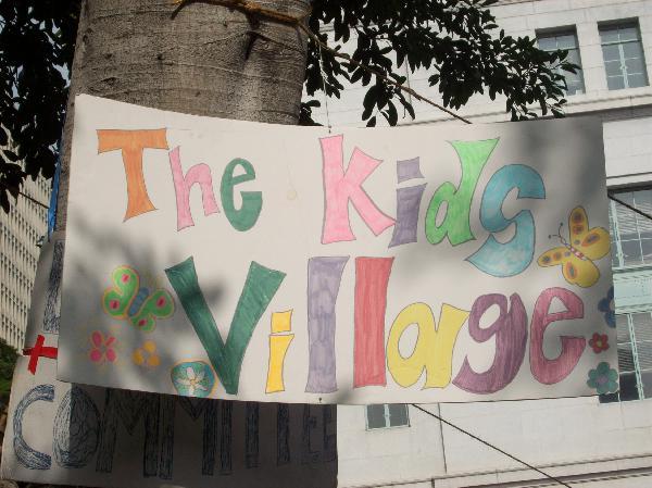 Child care...