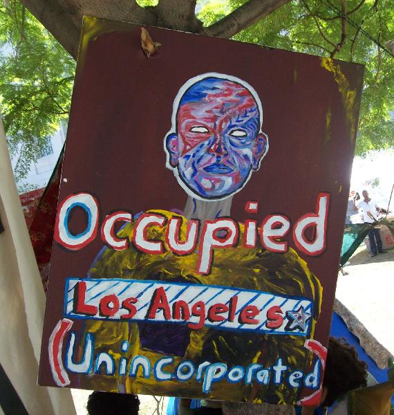 Pix of Occupy LA 10/...