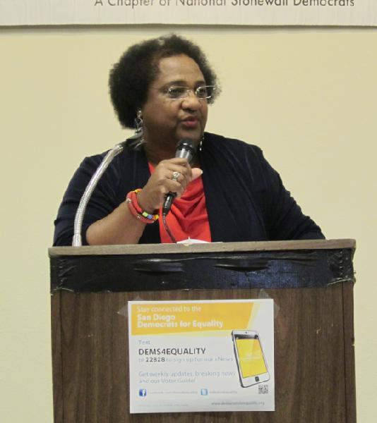 Dr. Shirley Weber...