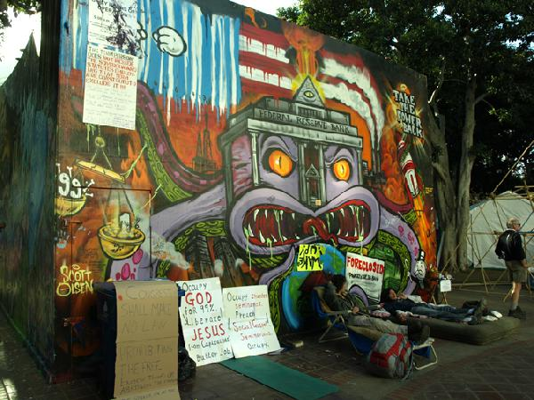 Occupy LA, Day 56 - ...