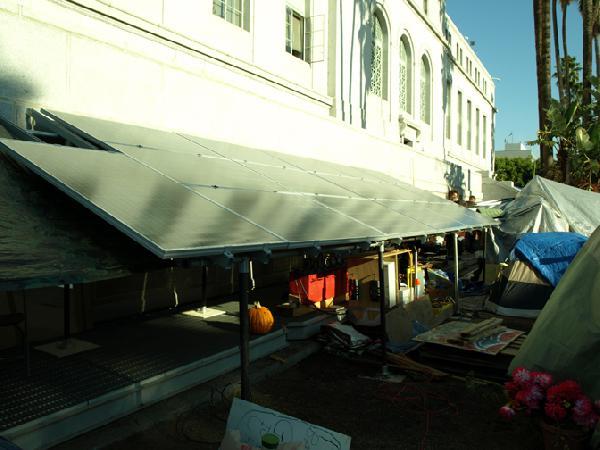 Solar Panel Array...