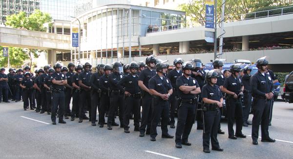 Phalanx LAPD...
