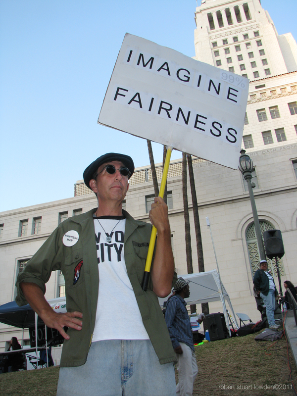 Occupy LA / Imagine ...