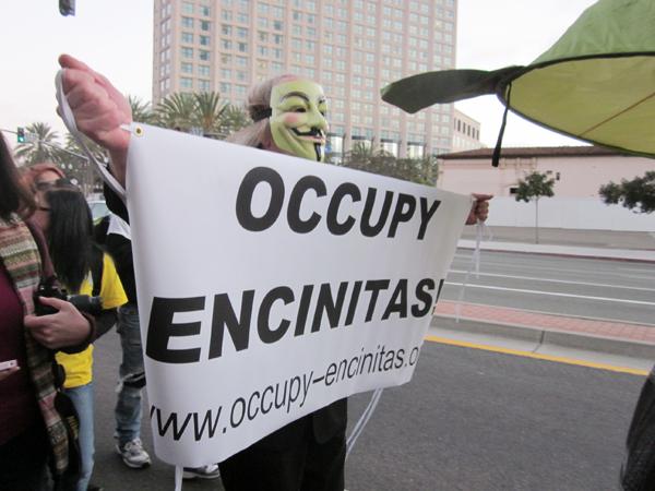 Occupy Encinitas...