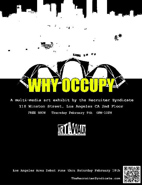 WHY OCCUPY art exhib...