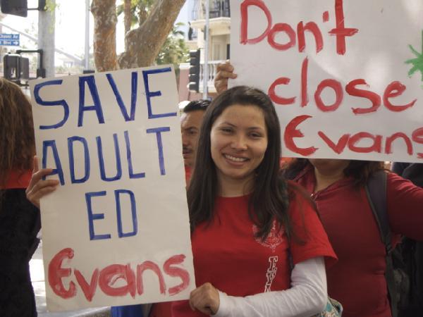 Evans CAS Students a...