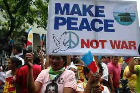 Peace not War...