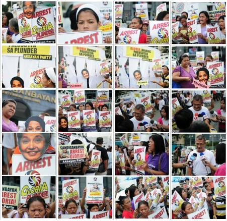 Philippines: Protest...