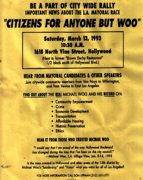 Citizens for Anyone ...