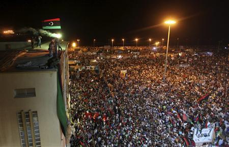 Qaddafi lies live on...