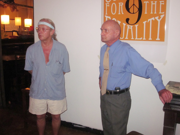 Pat Brown and Leo La...