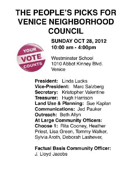 VOTE NOW!  VNC ELECT...