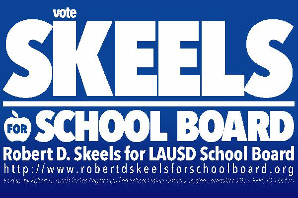 Robert D. Skeels for...
