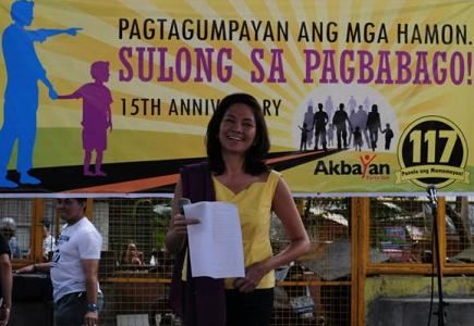 Philippines: Akbayan...