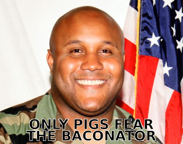 Only Pigs Fear the B...
