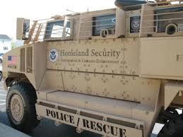 fema combat vehicle...