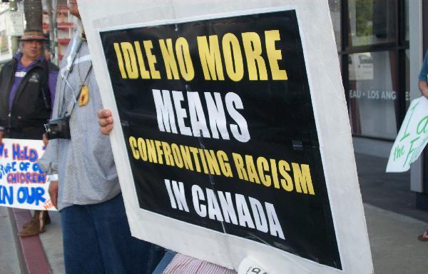 Idle No More visits ...