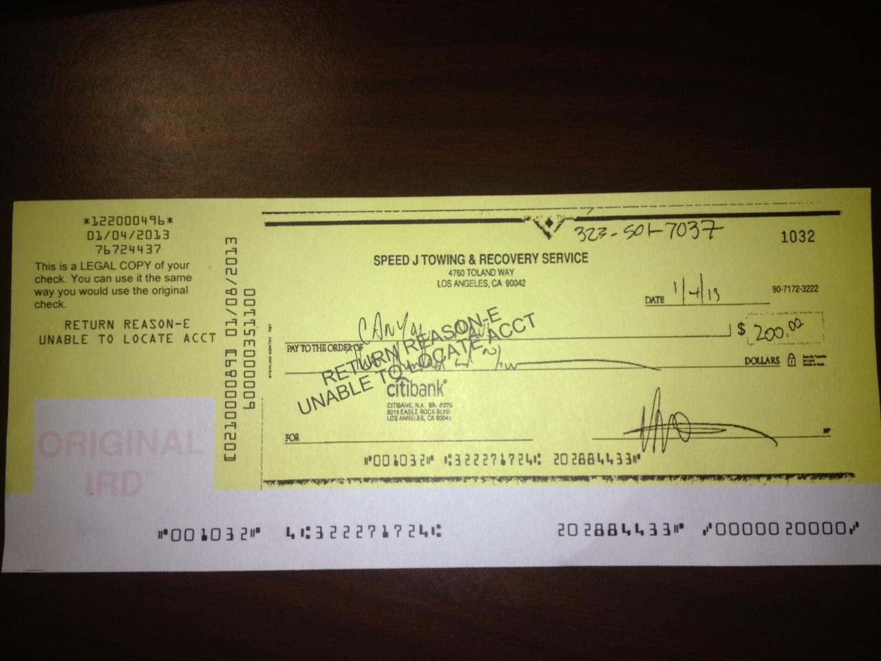 Beware of scam artist JOSE LUIS GALVAN Los Angeles tow truck ...