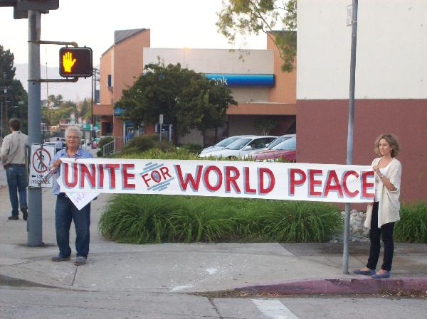 Northeast L.A. vigil...