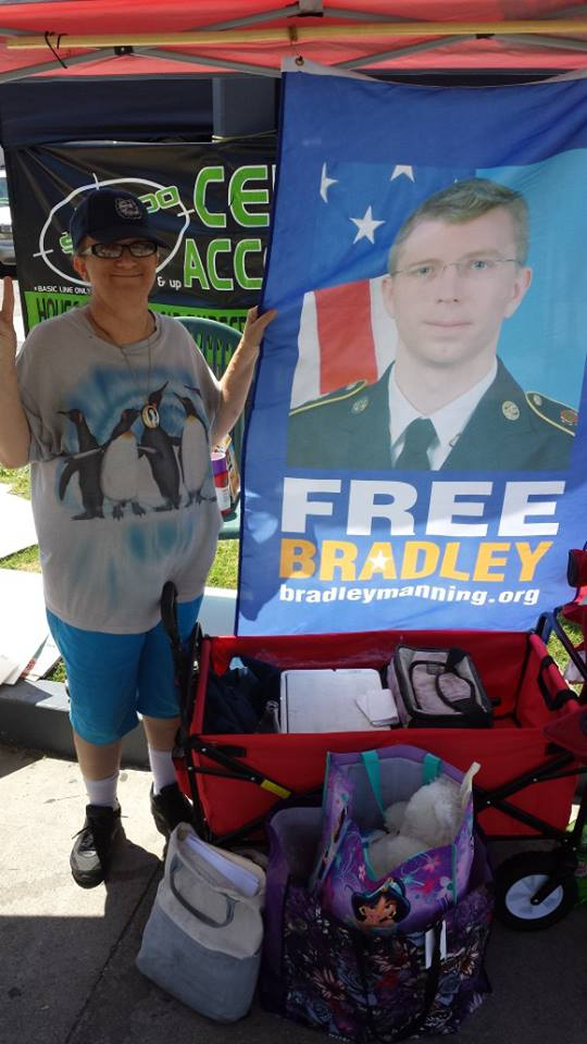 Free Chelsea Manning...
