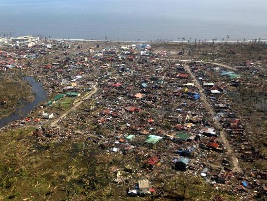 super typhoon Haiyan...