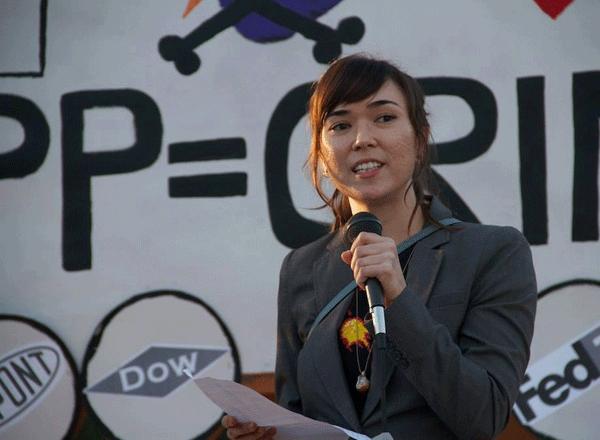 Speaker Maira Sutton...