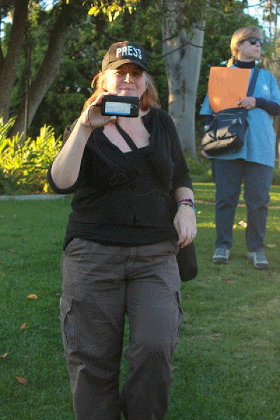 Activist Patti Beers...